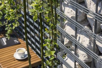Gabion Fence / the Progress of the Product Architecture #gabion #fence #progressarch #pro...