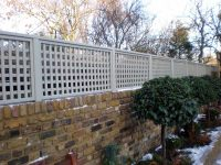 Painted Classic As Trellis Panels, Wooden Fence Trellis Panels - Essex, united kingdom,...
